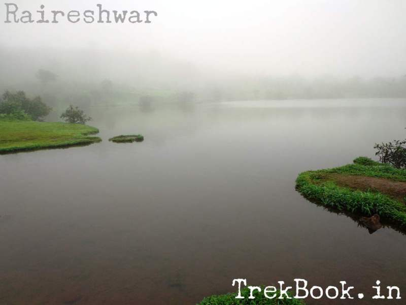 Lake Raireshwar serene water