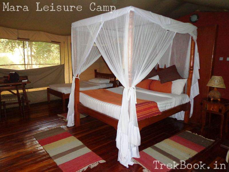 Mara Leisure Camp spacious tent rooms