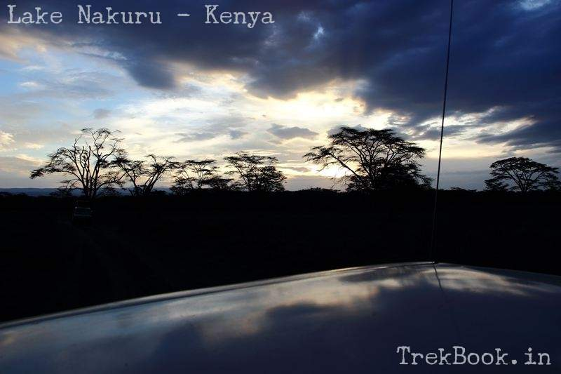 evening at lake nakuru
