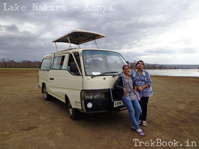 roopa and nima at lake front nakuru