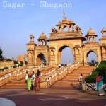 Grand and Magnificent Anand Sagar at Shegaon