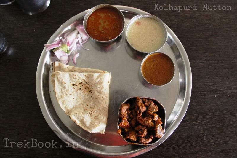 original kolhapur mutton thali