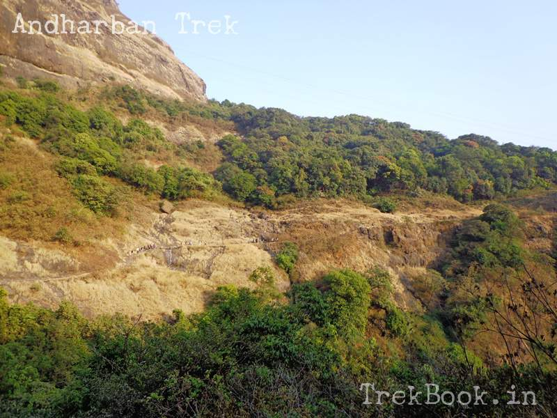 andharban trek from valley sides