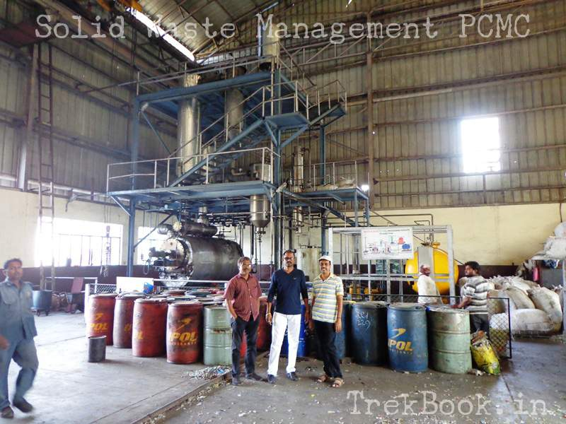 plastic waste treatment reactor pcmc