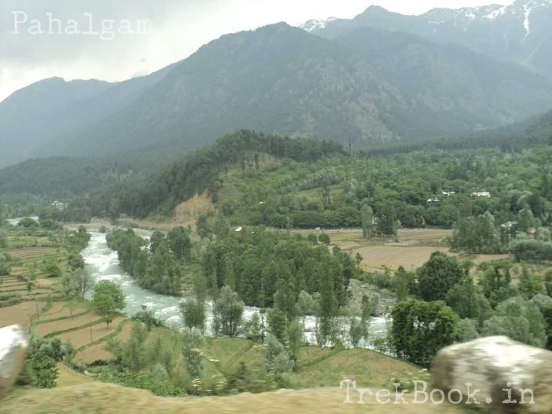 kashmir Pahalgam-river