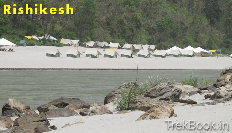 Beach Camps in Rishikesh