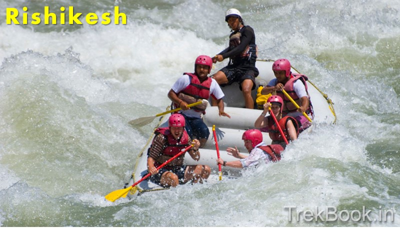 Rafting in Ganga