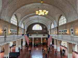 Ellis Island main hall