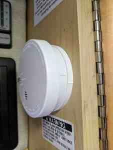 Smoke RV safety detector