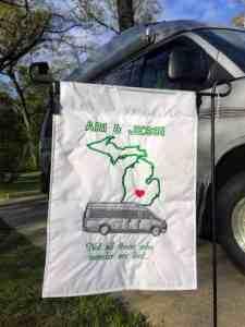 campsite flag