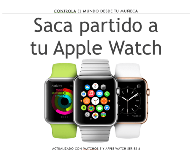 Saca partido a tu Apple Watch version 2.0