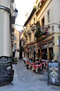 "Restaurant with ""berenjena con miel"""