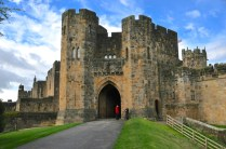 Alnwick Castle gate