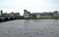 King John's Castle from across the River Shannon