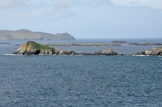 Great Blasket Island in the background