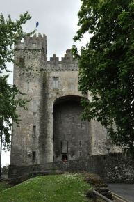 Front of Bunratty Castle