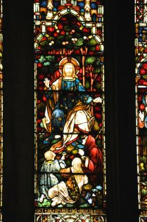 Detail of the Caswell Window, central panel