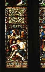 Detail of the Caswell Window, lower left panel