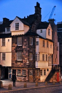 The John Knox house, from 1490