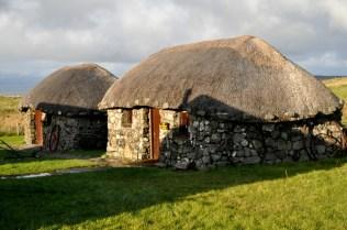 More stone huts