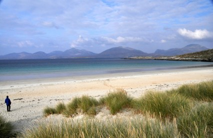 Gorgeous isolated beach, southern Isle of Harris