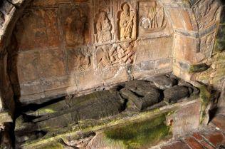 Tomb of Alasdair MacLeod, about 1545