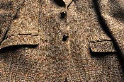 My (brown) Harris Tweed sport coat