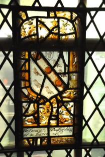 Stained glass, 1600's
