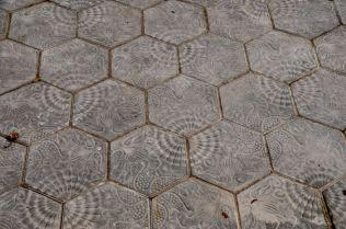 Sidewalk design on the Passeig de Gracia