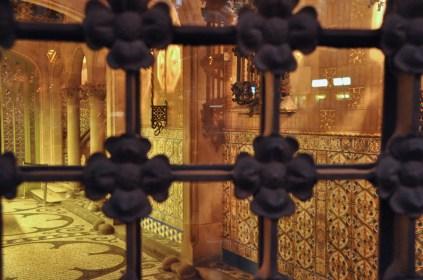 Peeking into the foyer