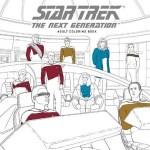 Star Trek Next Generation Colouring In Book
