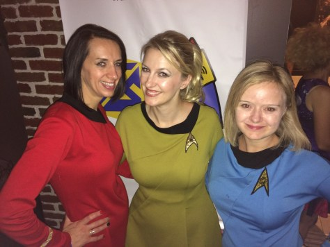 Trekkie Girls FanSets party STLV