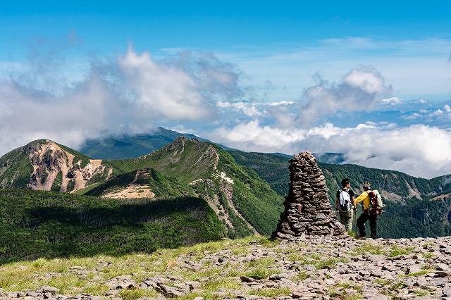 北八ヶ岳と登山者