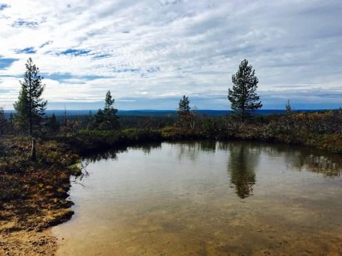 Urho Kekkosen kansallispuisto, UKK National Park, tunturilampi