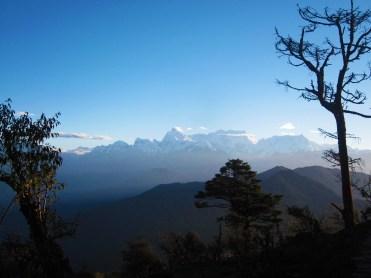 Kanchenjunga visto desde Pathibhara