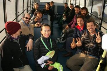 Josh Brolin y Jake Gyllenhall en nepal