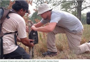 Loonardo configurar la camara en parque nacional de Bardia