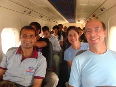 Ram con un turistas
