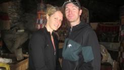 Robert Gropel y Marisa Strydom