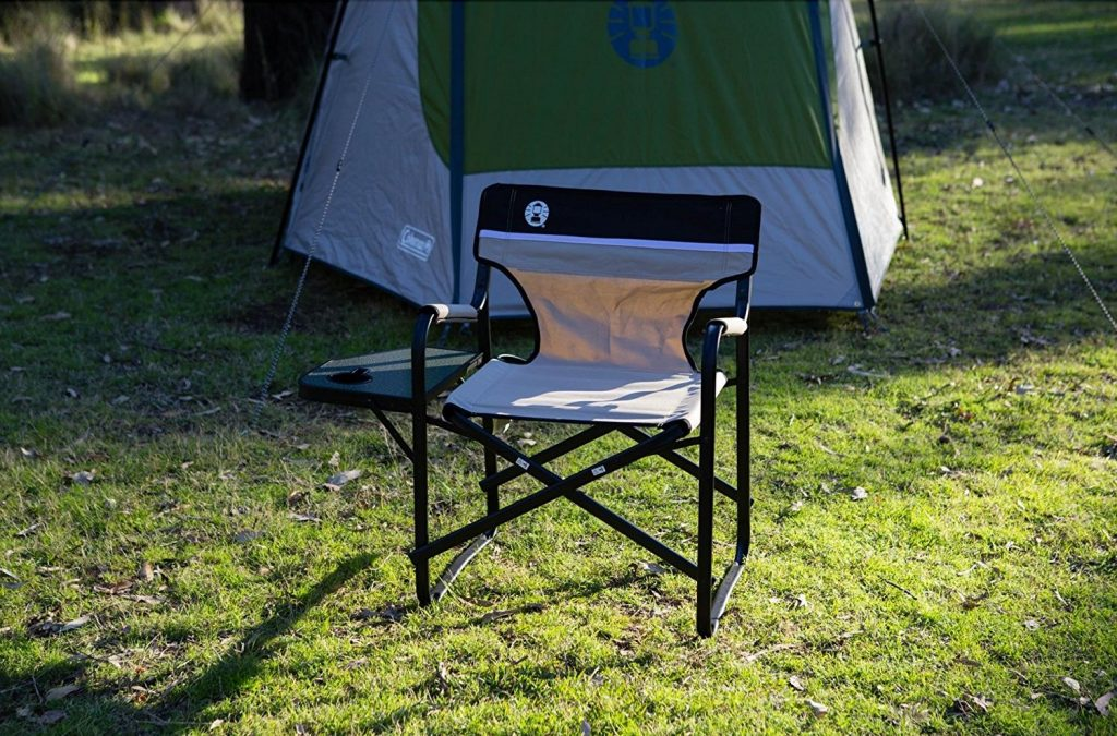 coleman portable deck chair foot covers home depot 6 best camping chairs of 2019 buying guide comparison reviews with side table