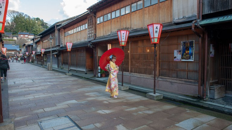 Exploring the Geisha District