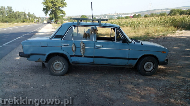 Mołdawia - Dzień 5 auto suszone ryby trekkingowo