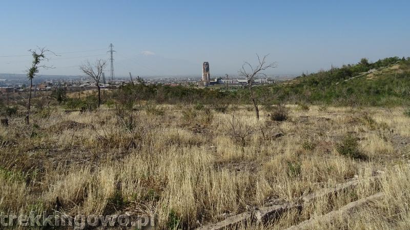 Ararat - u podnóża świętej góry Ormian ararat erywań trekkingowo