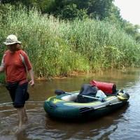 Tak jak Bolek i Lolek... - czyli spływ pontonowy rzeką Barycz