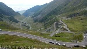 Rumunia, czy nadal dzika transfogaraska szczyt serpentyny 2 trekkingowo
