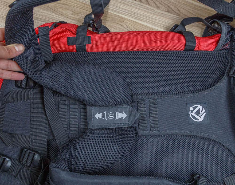 Outdoorer atlantis 90 10 backpacker trekkingrucksack test