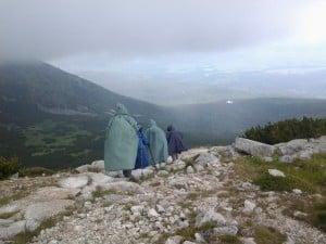 Même sous la pluie, les Hautes Tatras sont magnifiques.