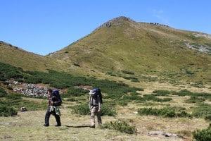 Pic Hoverla trek en ukraine carpates