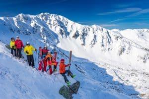 ski freeride Jasnà Slovaquie