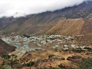 Authentisches Sherpa-Dorf: Khumjung